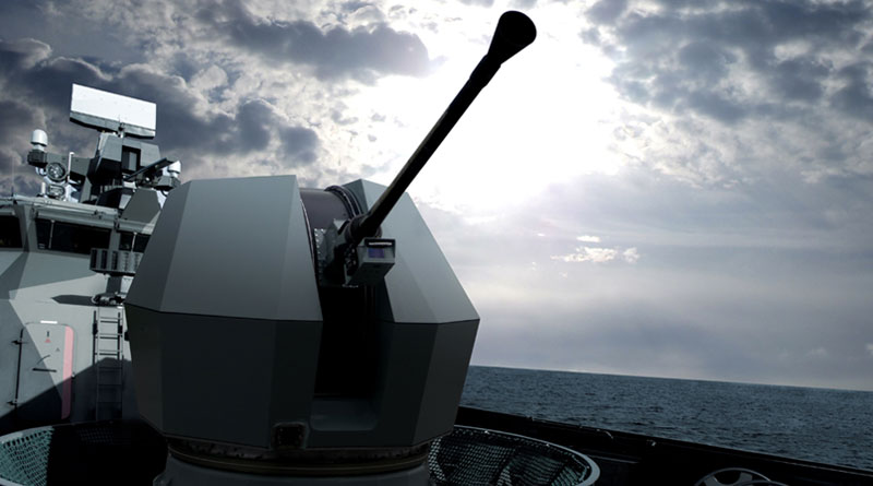 BAE Systems to Supply Bofors Naval Guns for UK's Type 31 Frigate Program