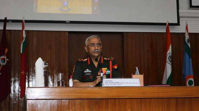 Army Chief M M Naravane Visits College Of Defence Management and Bison Division, Secunderabad Cantonment