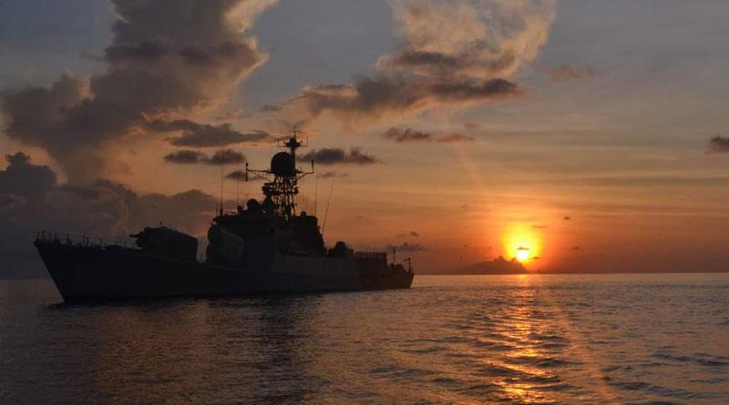 India and Bangladesh Hold Bilateral Naval Exercise Bongosagar and IN-BN CORPAT