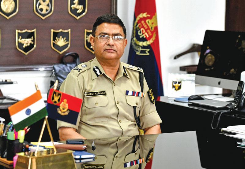 Director General, Border Security Force, Rakesh Asthana