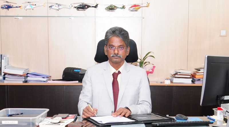 S Anbuvelan Appointed CEO of HAL's Helicopter Complex