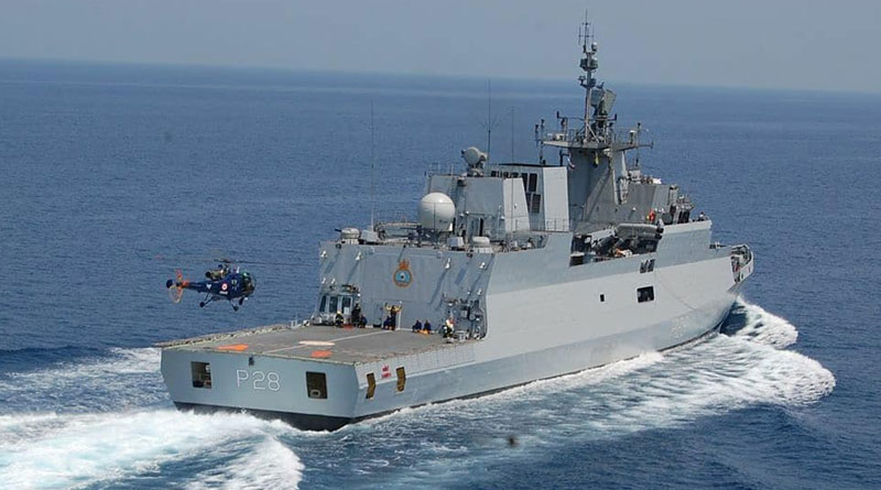 Indian and Sri Lankan Navies Begin New Edition of SLINEX-20 Off Trincomalee