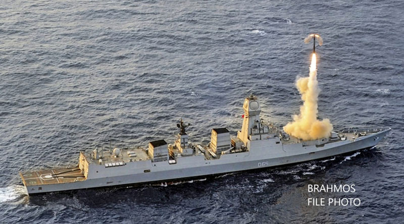 BrahMos Successfully Test Fired from Indigenous Stealth Destroyer