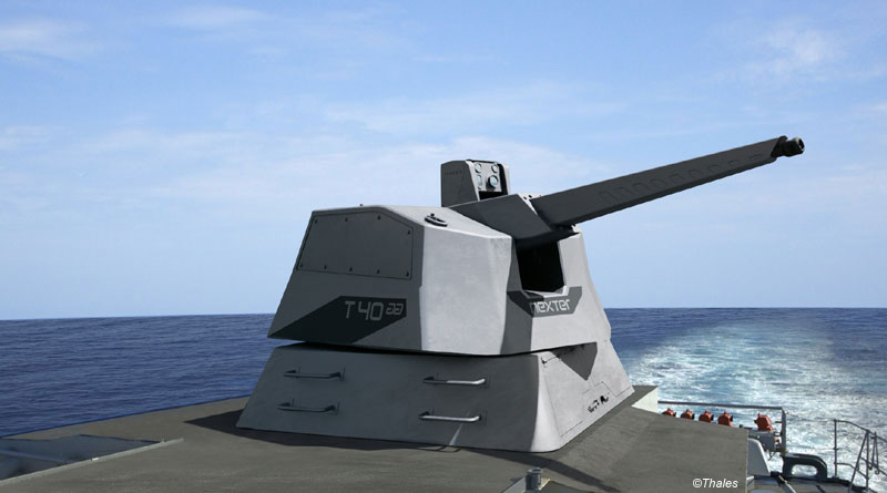French Navy Ships to be Equipped with a New Generation of Artillery by Thales and Nexter