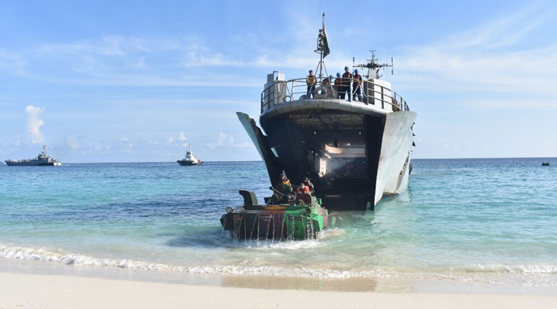 Andaman and Nicobar Command Holds Joint Services Exercise