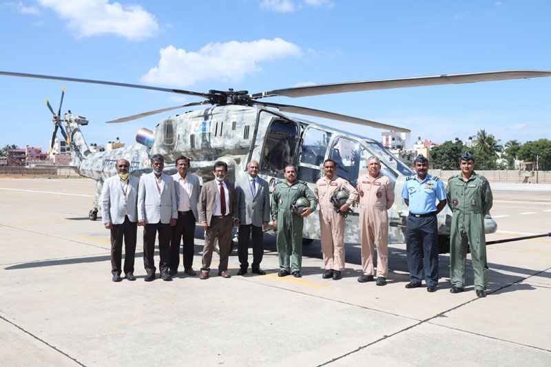 CAS Bhadauria Reviews HAL's LCH Project
