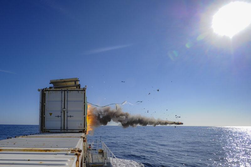 MBDA's Sea Venom Missile Completes Qualification Firing Trials