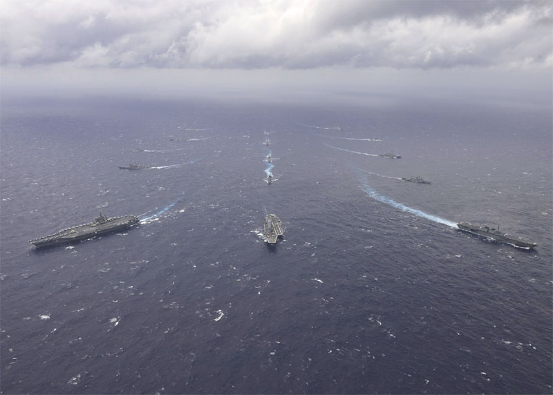 The Second Phase of Malabar Exercise Begins
