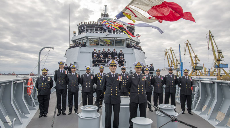 PNS Tabuk Commissioned in Romania