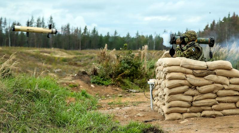 EuroSpike's SPIKE SR Missile Demonstrated in Estonia