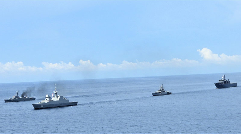 Trilateral Maritime Exercise Sitmex-20 In Andaman Sea