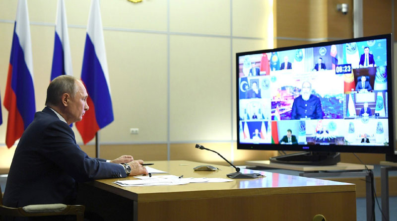 A Virtual Summit of the Shanghai Cooperation Organisation Held