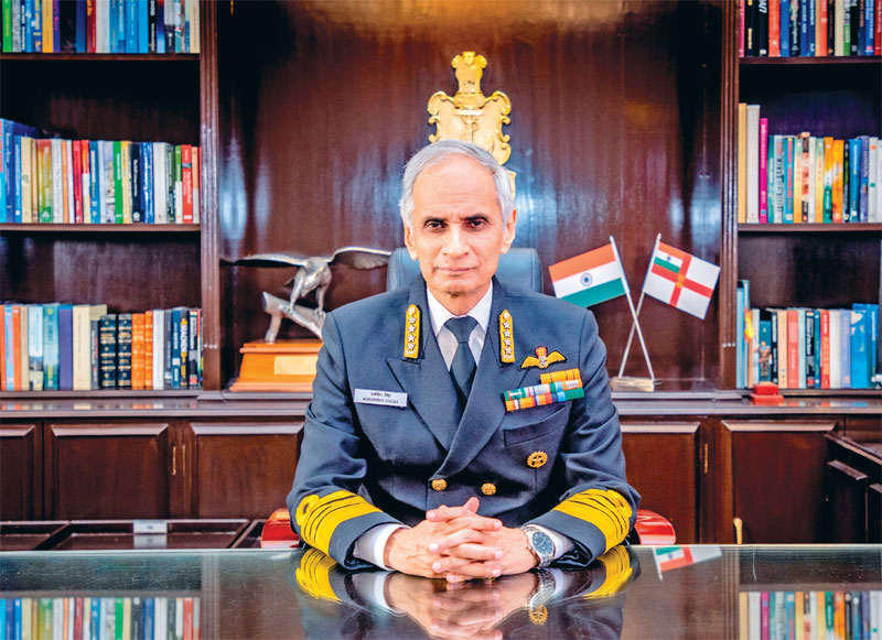 Chief of Naval Staff Admiral Karambir Singh