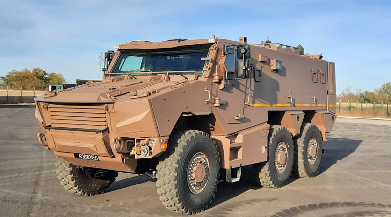 Nexter, Thales and Arquus Present 128 GRIFFONs to the French DGA