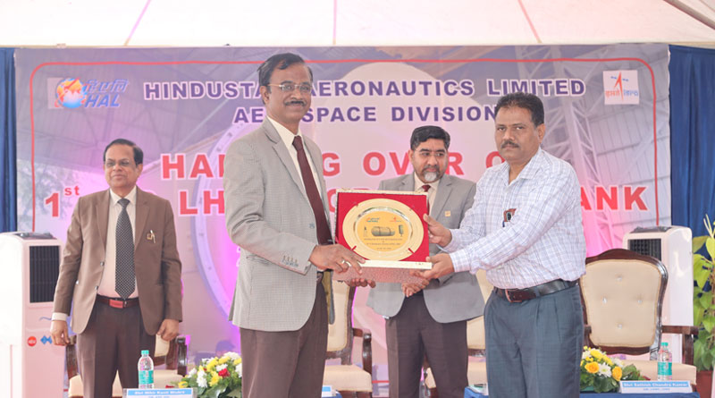 HAL Delivers Biggest-Ever Cryogenic Propellant Tank to ISRO