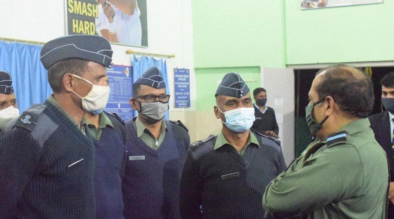 CAS RKS Bhadauria Visits Eastern Air Command AoR