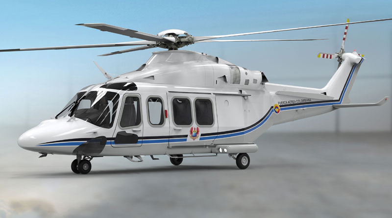 Leonardo's AW139 Helicopter will be Colombia's new Presidential Transport
