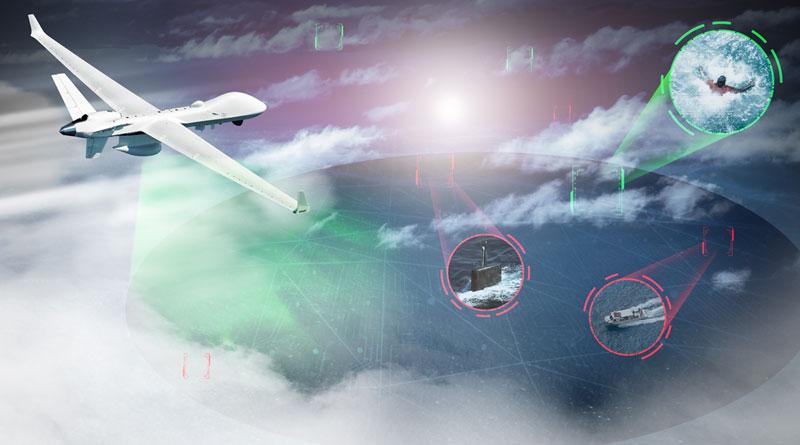 Leonardo Seaspray AESA Maritime Radar to be Integrated on GA-ASI MQ-9B SeaGuardian