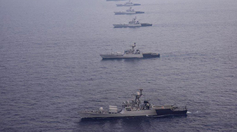 FOCINC ENC Reviews Operational Readiness of the Eastern Fleet
