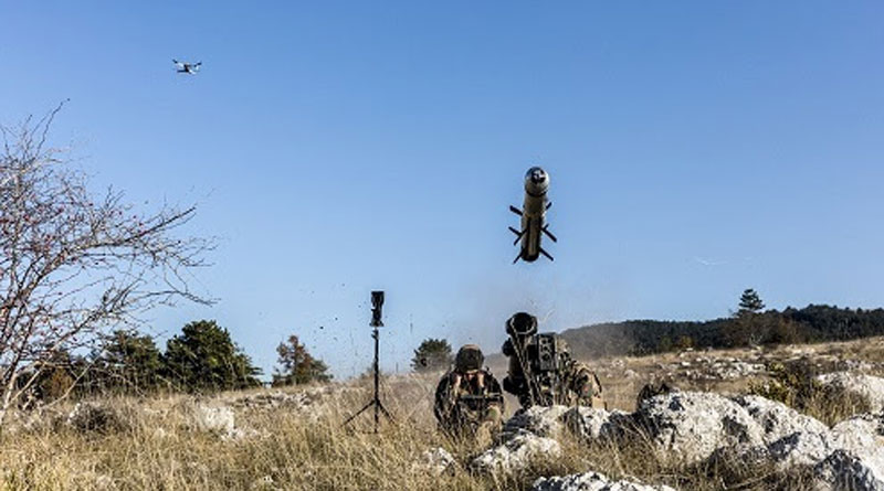 Successful MMP Firing with Target Designation made by a Novadem Drone