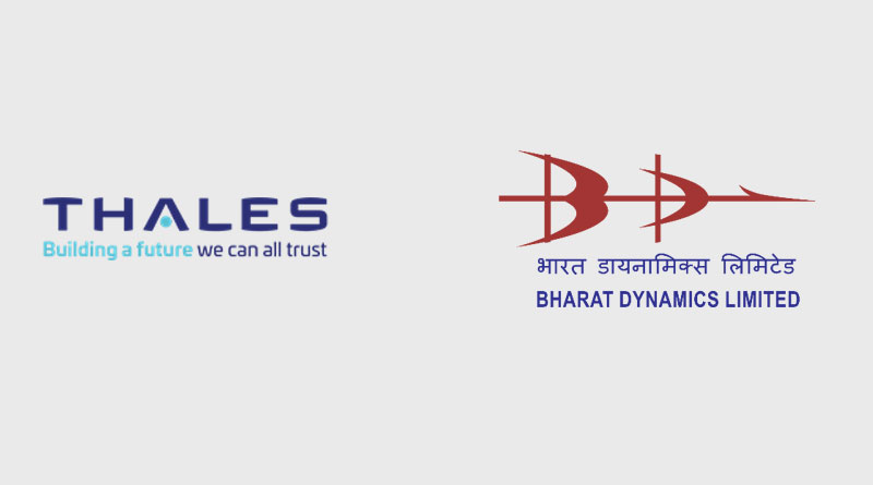 Thales and Bharat Dynamics Limited Team Up for STARStreak Air Defence System