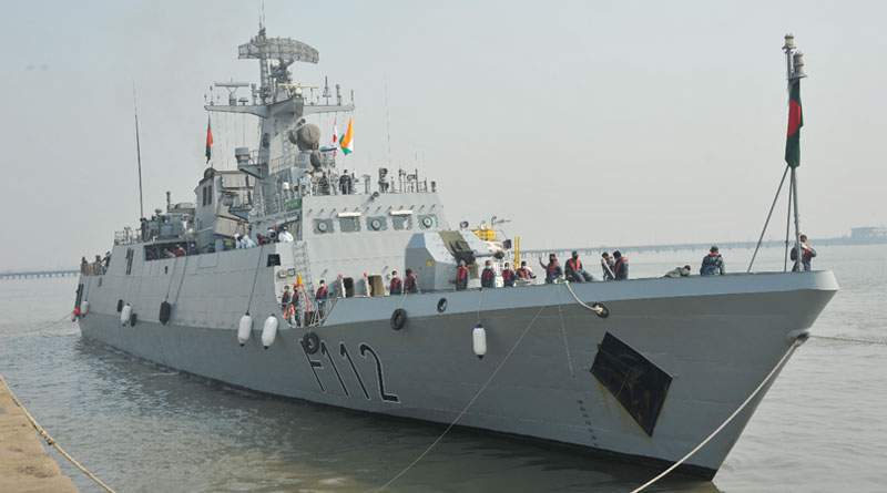BNS Prottoy on a Visit to Mumbai