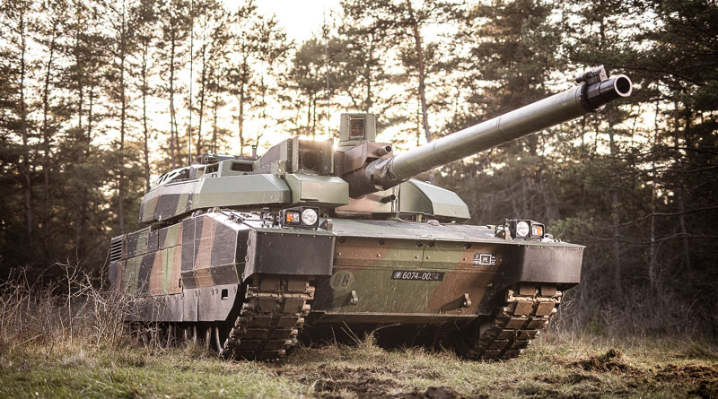 Leclerc tank