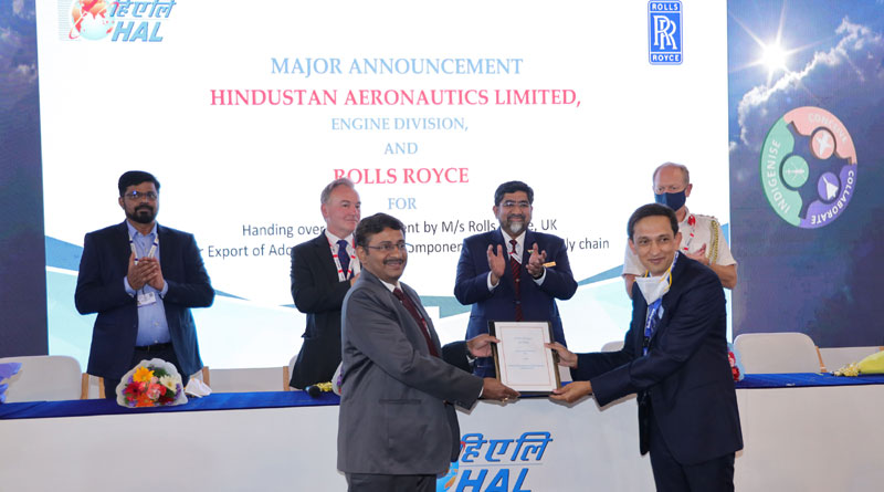 HAL and Rolls-Royce Expand Partnership