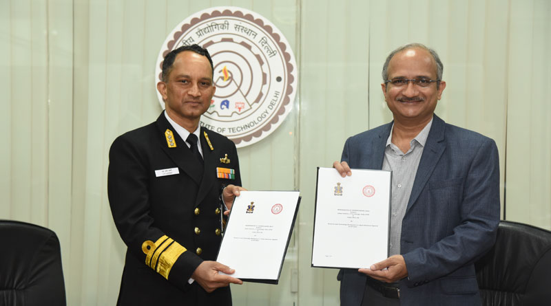 IIT Delhi and Indian Navy Sign MoU