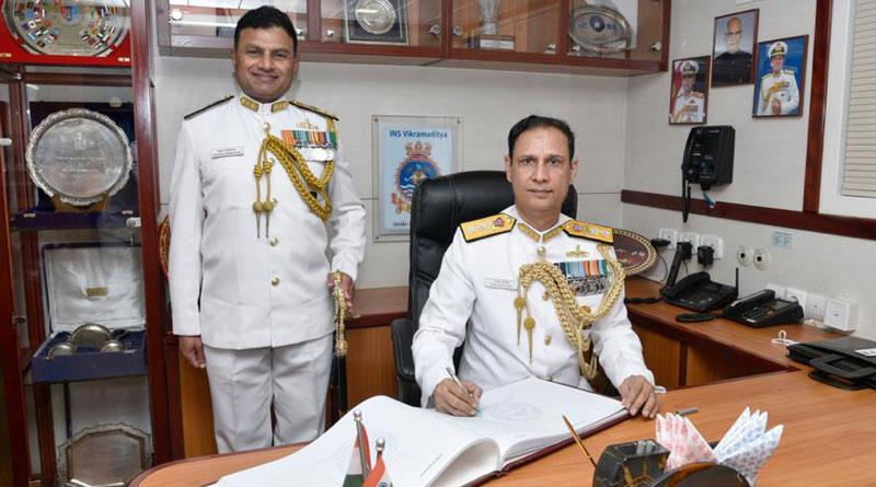 Rear Admiral Ajay Kochhar Assumes FOCWF