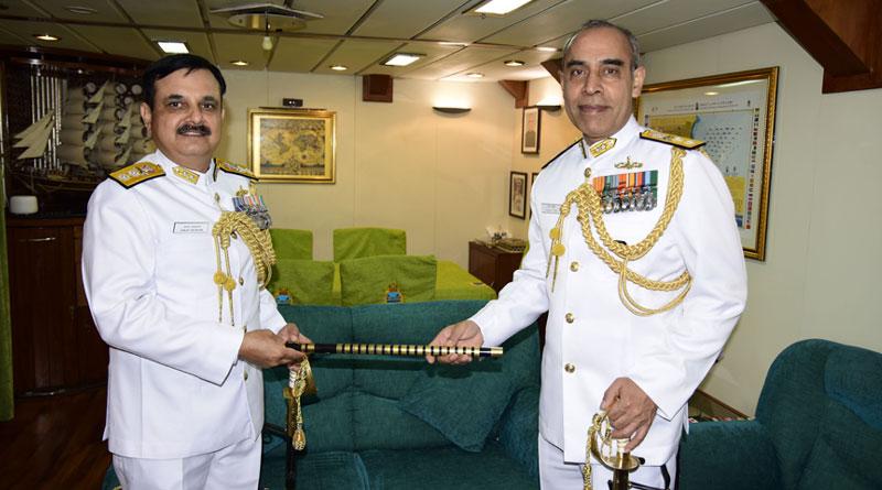 Rear Admiral Tarun Sobti Takes Over As FOCEF