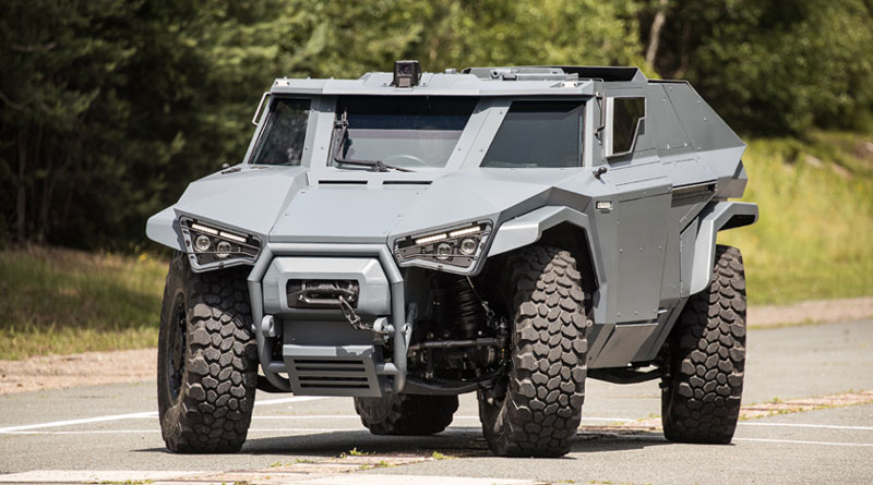 Arquus launches the Scarabee at IDEX 2021