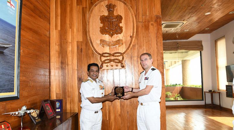 ALINDIEN Visits Western Naval Command