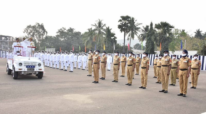 Vice Admiral Ajendra Bahadur Singh Takes Over as the FOC-in-C, ENC