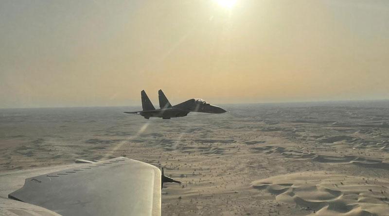 Exercise Desert Flag-VI Conducted in UAE