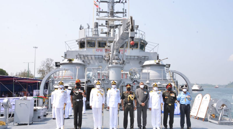 Indigenous Warship INLCU L-58 Commissioned