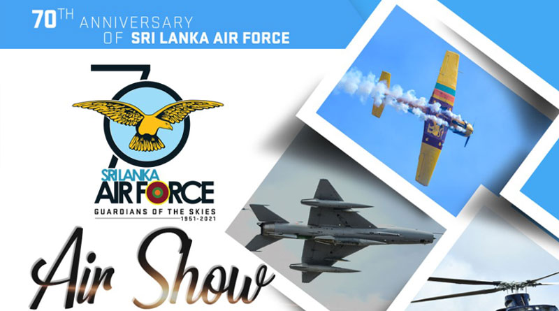 IAF to Participate in 70th Anniversary Celebrations Of SLAF