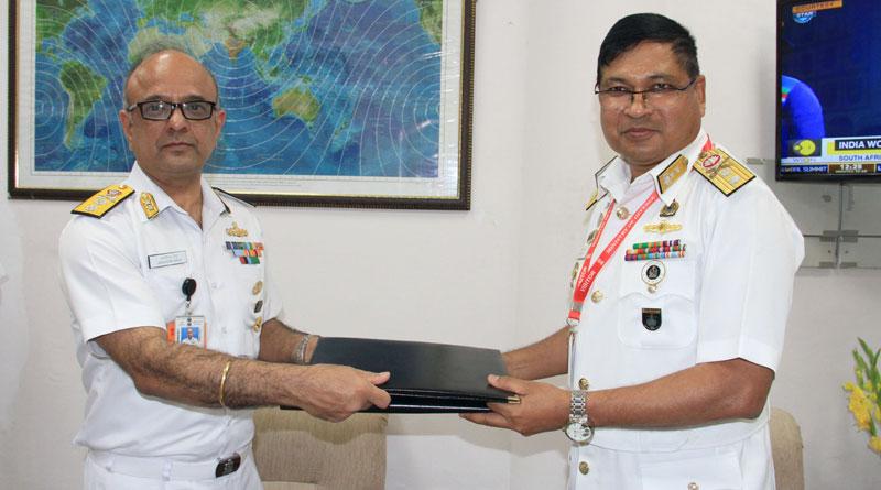 India-Bangladesh Navies Hold Seventh Edition of Staff Talks