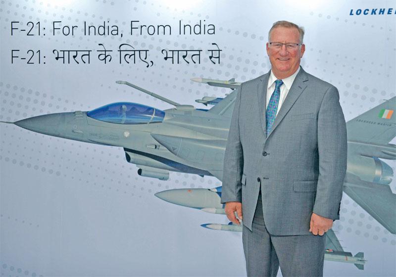 Vice president for business development, Integrated Fighter Group, Lockheed Martin Aeronautics, J.R. McDonald