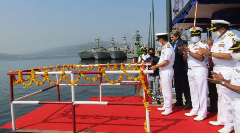 Extension of Naval Jetty Phase-II at Naval Wharf Inaugurated