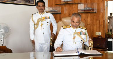 Vice Admiral R Hari Kumar Assumes Charge of Chief of Western Naval Command