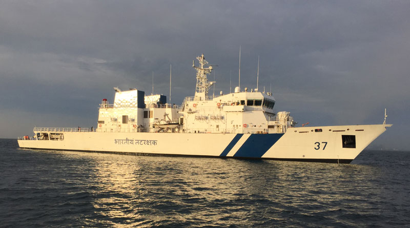 Sixth ICGS Vajra Commissioned into the Indian Coast Guard
