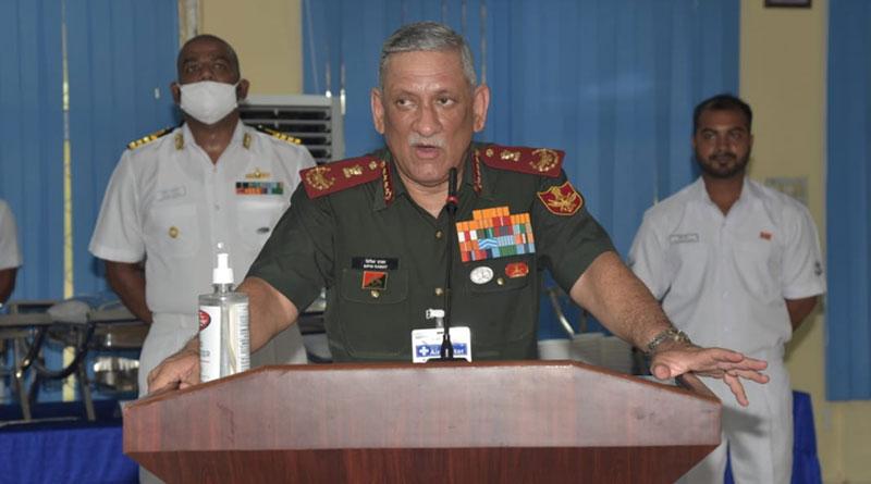 CDS Gen. Bipin Rawat Visits Karwar Naval Base