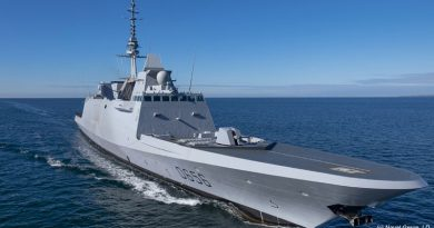 Naval Group Delivers the FREMM DA Frigate Alsace
