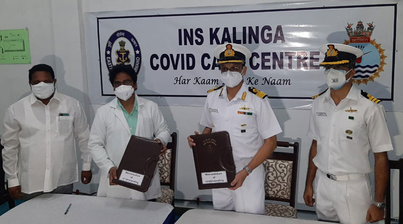 India Navy Sets Up Covid Care Centre at INS Kalinga for General Public