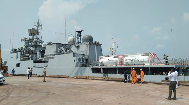 Indian Navy Deploys Nine Warships to Transport Medical Necessities Abroad