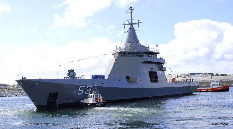 Naval Group Launches A.R.A. Storni