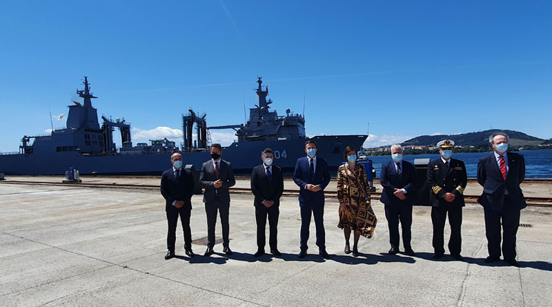 Navantia-built AAOR Stalwart Departs for Australia from Ferrol, Spain