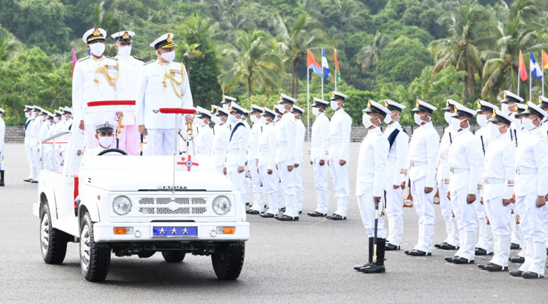 Spring Term at Indian Naval Academy Culminates With The Passing Out of 152 Trainees