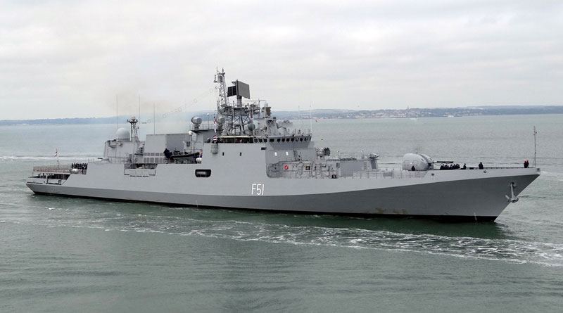 IN, European Union Naval Force Begin Maiden Joint Exercise in Gulf of Aden